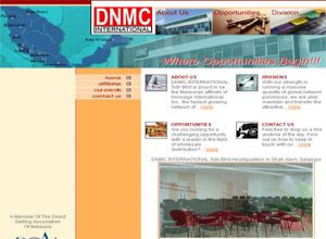 Showcase: DNMC International - Corporate Web Site - Aromatherapy oil, Frosty Glass Burner, Car Vaporizer, Personal Diffuser