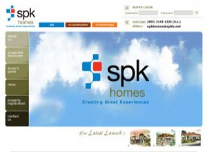 Showcase: SPK Homes - Corporate Web Site - Property Development in Malaysia