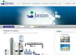Showcase: Jantzen - Corporate Web Site - Malaysia Reverse Osmosis Drinking Water Company
