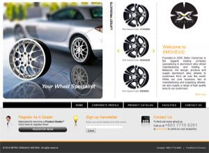 Showcase: XMOVEVIC - Corporate Web Site - Aluminium Alloy Wheel Manufacturing and Trading in Malaysia