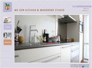 Showcase: We Son - Corporate Web Site - Kitchen & Wardrobe Solutions and Design in Malaysia