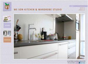 Showcase: We Son - Corporate Web Site - Kitchen & Wardrobe Solutions and Design in Malaysia