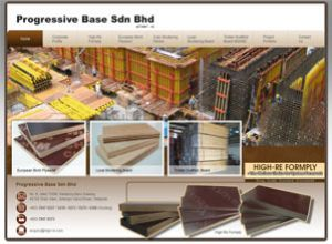 Showcase: Progressive Base - Corporate Web Site - A Stockiest Of Timber Products in Malaysia