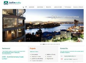 Showcase: Jalin Realty - Corporate Web Site - Real estate & Property Investment in Australia, Singapore, Malaysia