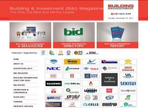Showcase: B & I Marketing - Corporate Web Site - Building Publication and Investment Magazine Malaysia