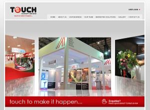 Showcase: Touch Concept - Corporate Web Site - Events Management Company in Malaysia