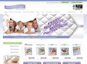 Showcase: Protect-A-Bed by King Koil Malaysia - E-Commerce Web Site - Best Selling Waterproof Mattress Protectors