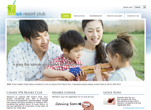 Showcase: Cahaya SPK Resort Club - Club Web Site - Exclusive and Chic Recreational Club in Malaysia