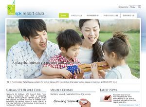 Showcase: Cahaya SPK Resort Club - Club Web Site - Exclusive and Chic Recreational Club in Malaysia