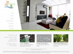 Showcase: Benteng 8 - Property Web Site - Heart of Kuala Lumpur City's Most Livable Neighbourhood Malaysia