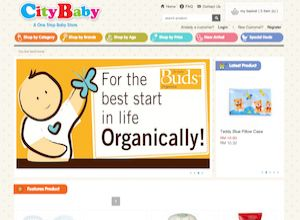 Showcase: Citybaby - E-Commerce Web Site - One Stop Online Baby Store Malaysia