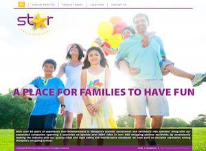 Showcase: Star Entertainment - Corporate Web Site - Shopping Centres Malaysia Amusement Operator