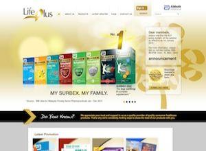 Showcase: Abbott LifePlus - Loyalty Web Site - Healthcare Products Reward Points