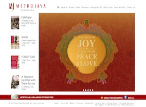 Showcase: Metrojaya - Corporate Web Site - Chain Department Stores Malaysia Shopping Center