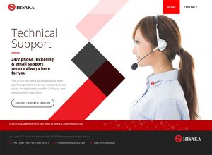 Showcase: Hisaka Technical Support