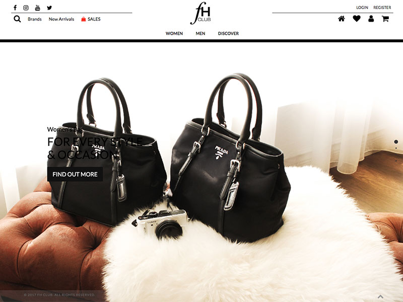 E Commerce Fashion And Beauty: Malaysia CMS Software Solutions, Professional Web Design