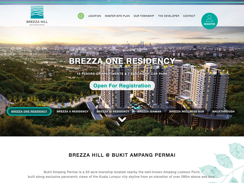 Content Management System : Brezza Hill